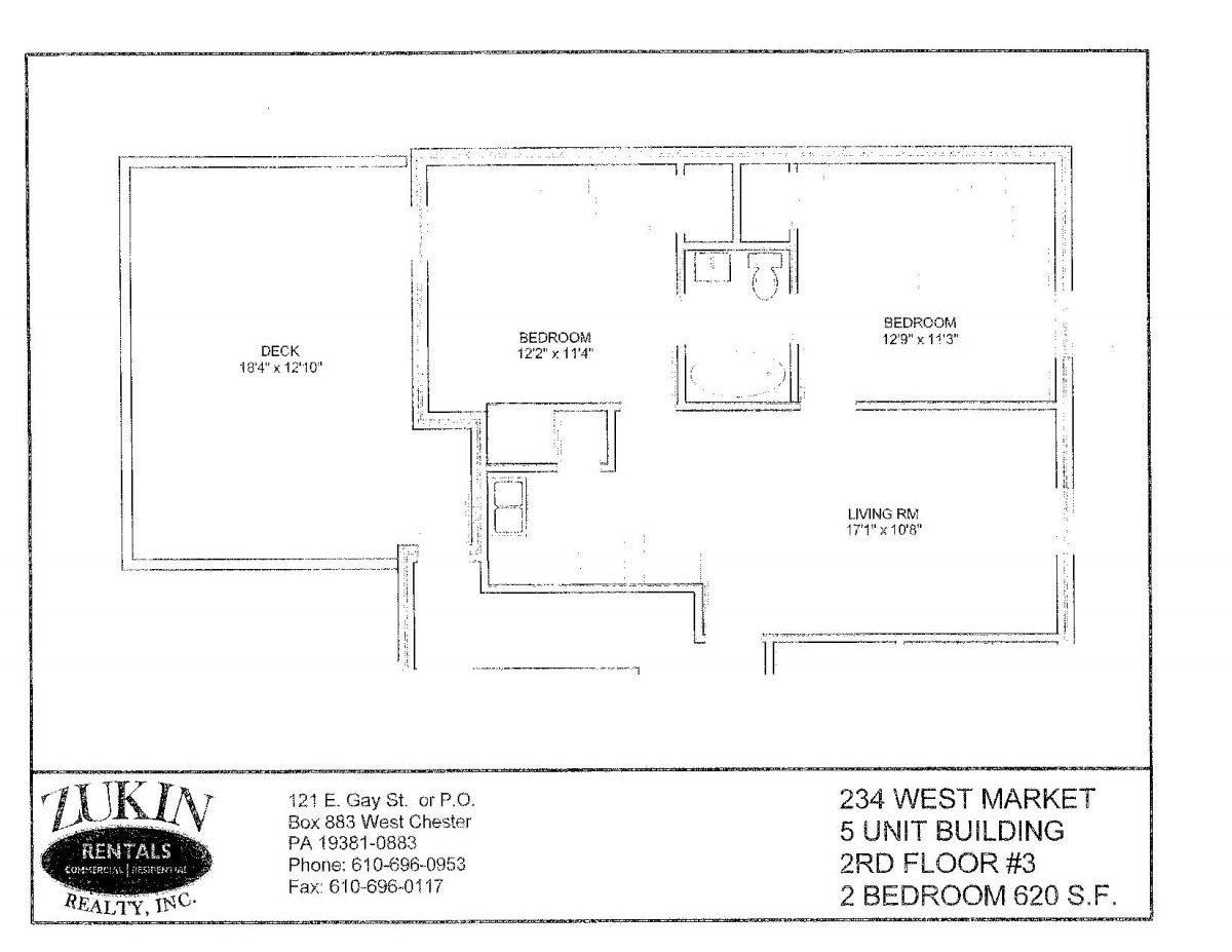 236 West Market Street Apt 3
