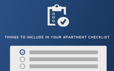 Things to Include on Your Apartment Rental Checklist