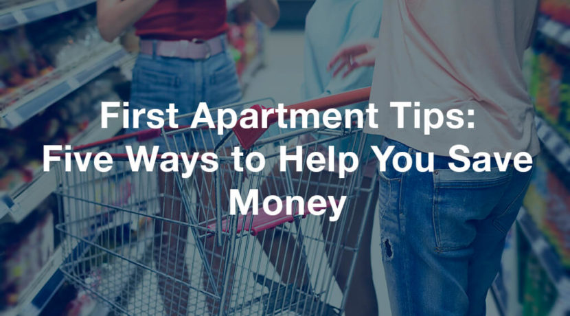 First Apartment Tips - Zukin Realty