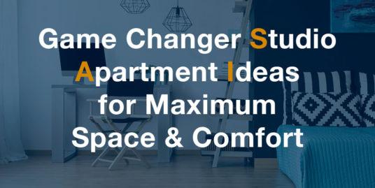 Studio Apartment Ideas - Zukin Realty