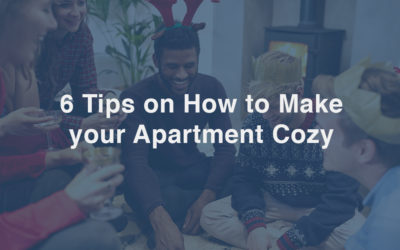 6 Tips on How to Make your Apartment Cozy