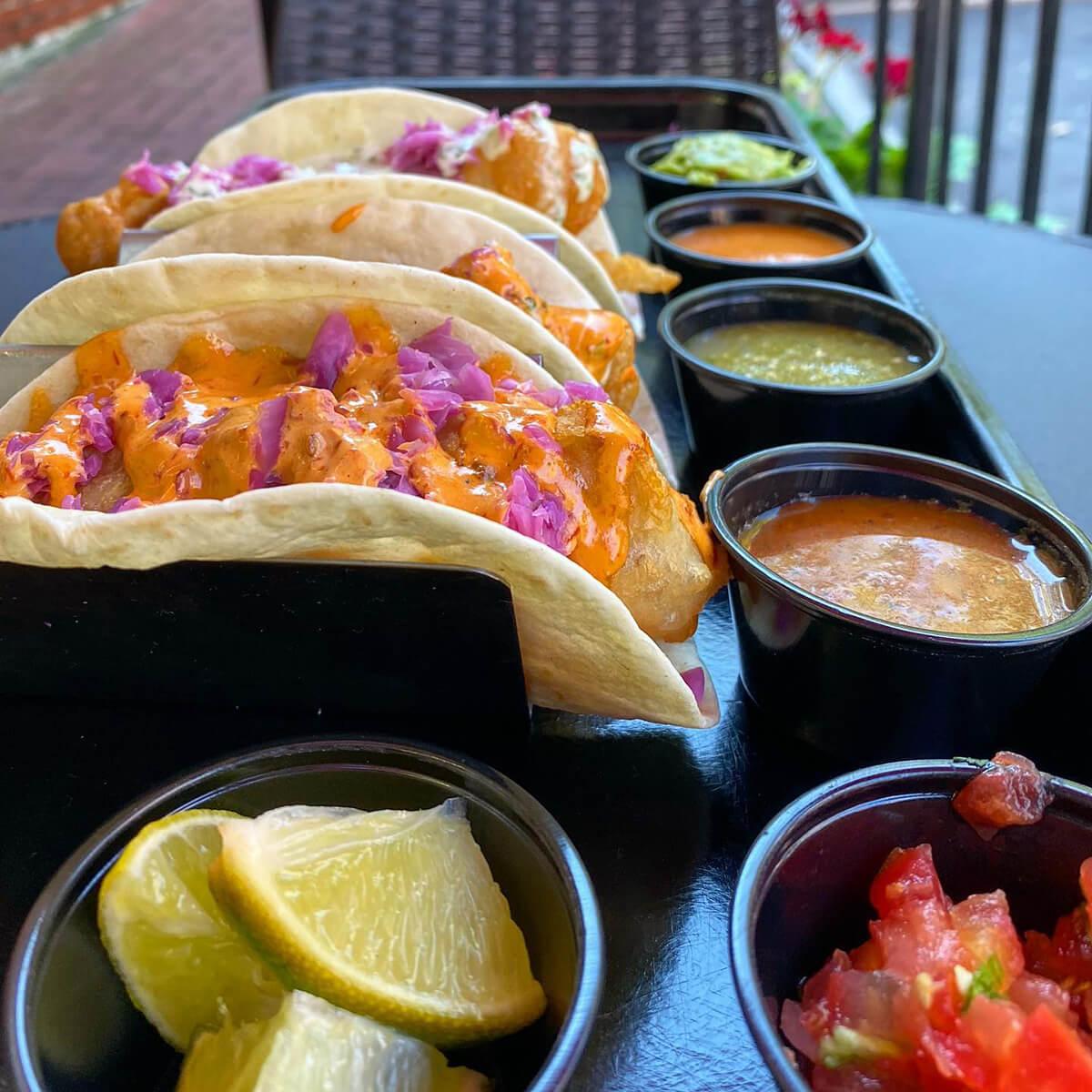Taco Mar Fish Tacos