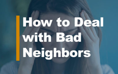 How to Deal with Bad Neighbors