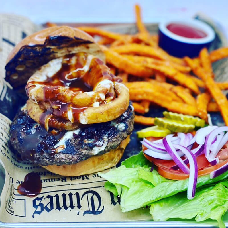 the Social Lounge West Chester PA - Cajun Burger