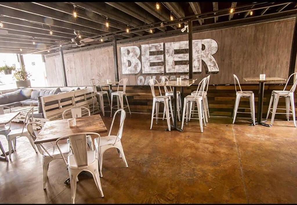 the Social Lounge - Outdoor Beer Garden