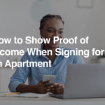 Ways to Make Proof of Income