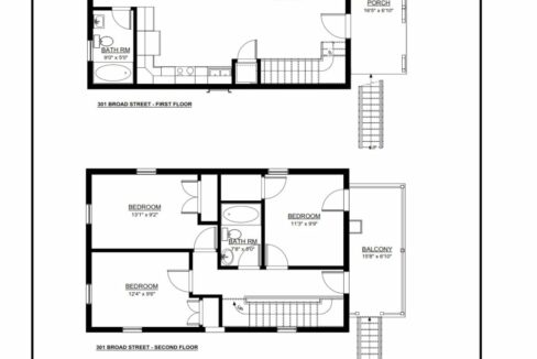 301 Broad Carriage House #1 FP